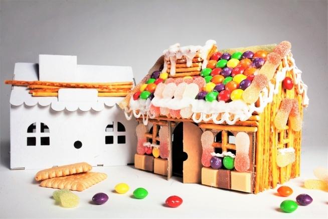 Słodki Domek DIY Super zabawa dla całej rodziny!