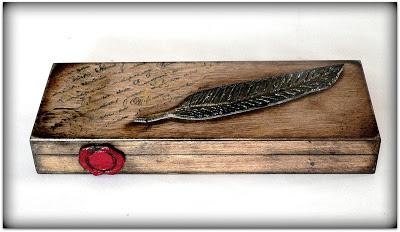 Drewniany piórnik dla mężczyzny-dla dziadka, taty, szefa :) Zapraszam