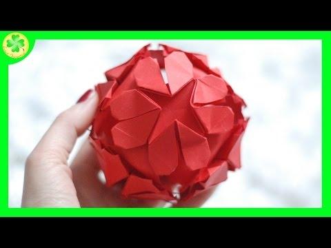 Filmik ukazujący proces powstawania przepięknej serduszkowej kuli! :)