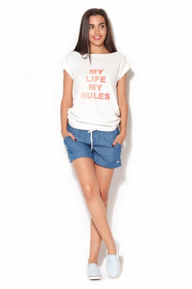 Szorty ala jeans to idealny wybór na lato 2017. Pasują do każdej stylizacji. Zawsze stylowe i modne :)