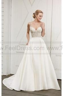 Martina Liana Elegant Beaded Wedding Dress Separates Style Capri + Selene + Olivia