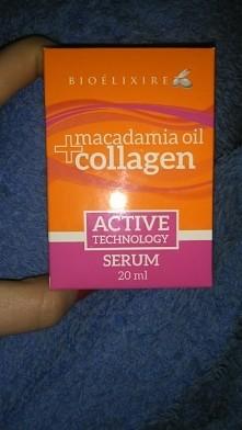 Serum macadamia +collagen. Silna odżywka do intensywnej regeneracji, nawilżen...