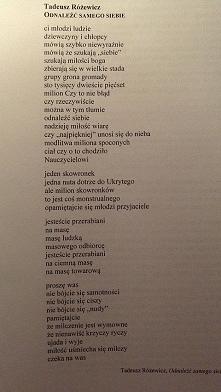 Tadeusz Różewicz~