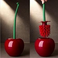Szczotka do wc w kształcie wiśni- co powiecie na taki łazienkowy gadżet? :D