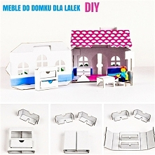 Meble dla lalek DIY Do pobr...