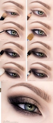 Brązowe smoky tutorial