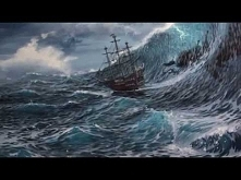How To Paint A Stormy Ocean Scene