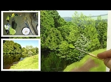 #77 HOW TO PAINT TREE DETAILS | Michael James Smith