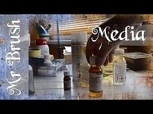 Krótko o MEDIACH MALARSKICH, z mojej kolekcji