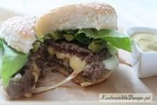 Hamburger wołowy  Przepis p...