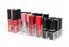 akrylowy organizer na 24 szminki <3