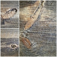 stare drewno, prosty sposób...