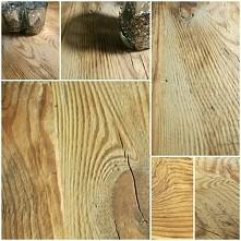 stara deska podłogowa