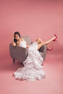 Suknia ślubna w stylu hiszp...