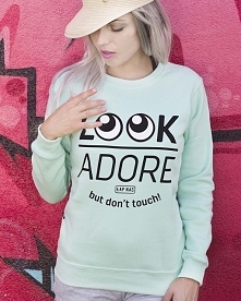 Look adore, but don't ...