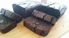 Brownie z fasoli - mocno cz...