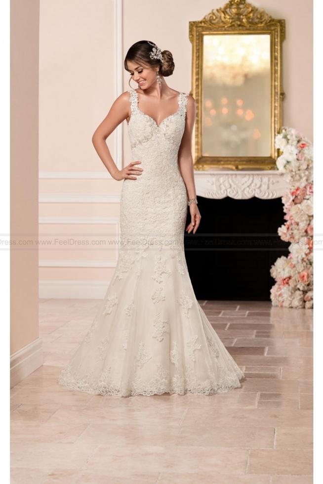 Stella York Lace Fit And Flare Wedding Dress Style 6335