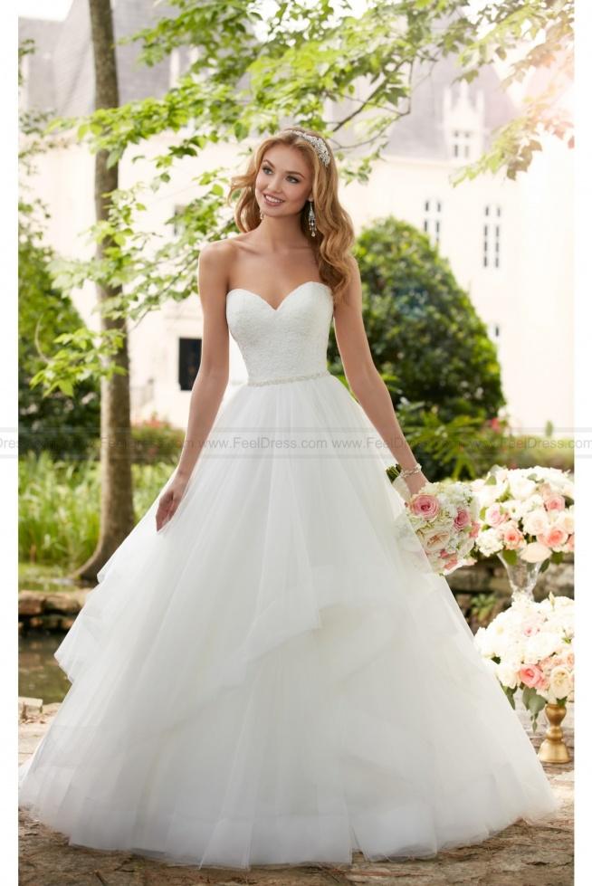Stella York Layered Ball Gown Wedding Dress Style 6315