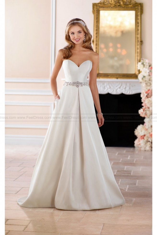 Stella York Structured Ball Gown With Pockets Style 6446