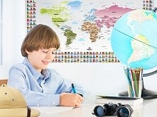 Mapa świata eduart do pokoj...