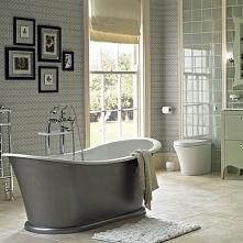 *** spokojna kolorystyka w łazience ***