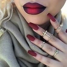 piękne usta ombre <3