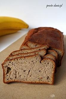 Chleb bananowy z mąką gryczaną  Przepis po kliknięciu w zdjęcie.