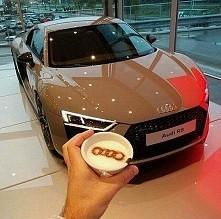 Audi R8 w kawowym kolorze :)