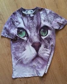 tshirt z kotem, hot czy not? podoba Ci się? ❥