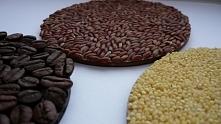 Podkładki pod kubek z kawy, ryżu i kaszy :)