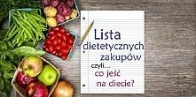 Co jeść na diecie? Lista dietetycznych zakupów: → produkt białkowy,→ produkt...