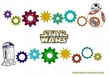 Uniwersalna gra do druku dla dzieci, z motywem Star Wars.
