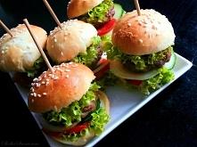 Mini Hamburgery - idealne na Karnawał przepis