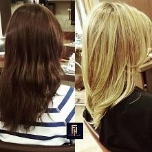 Z brązu do blondu z Olaplex