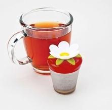 Zaparzaczka do herbaty kwiatek.
