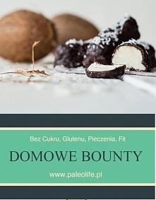 Domowe bounty, bez glutenu,...
