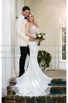 Martina Liana illusion Back Wedding Dress Style 775