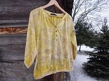 Piękny żółty odcień. 100% naturalnie farbowane.