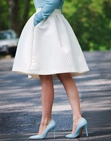 baby blue and white !*.*