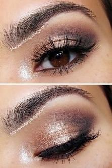 cudowny makijaż oka