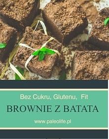 Czekoladowe brownie z batat...