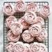 Róże bezowe- przepis po kliknięciu w zdj.