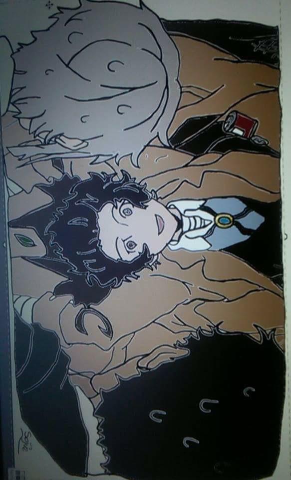 """Scena z anime BUNGOU STRAY DOGS *sorki za jakoś x"""")*"""