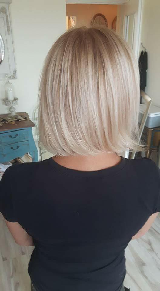 Moje włosy jakiś czas temu :)