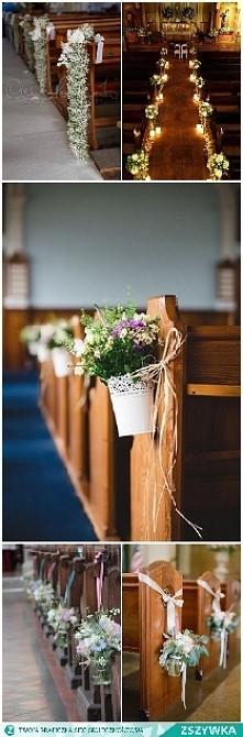 wystrój kościoła na mój ślub