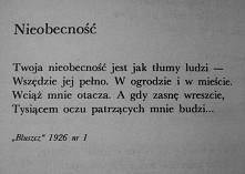 ~Maria Pawlikowska-Jasnorzewska.