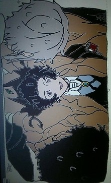Scena z anime BUNGOU STRAY ...