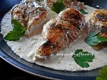 Kurczak w sosie ziołowym ar...
