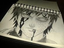 Gaara z Naruto ♥ \szkicownik\