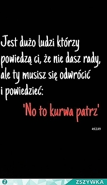 No to patrz... DAM RADE!